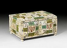 SMALL CASKET, Baroque and later, probably German,
