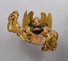 GROUP OF ANGELS, Renaissance, Flanders under