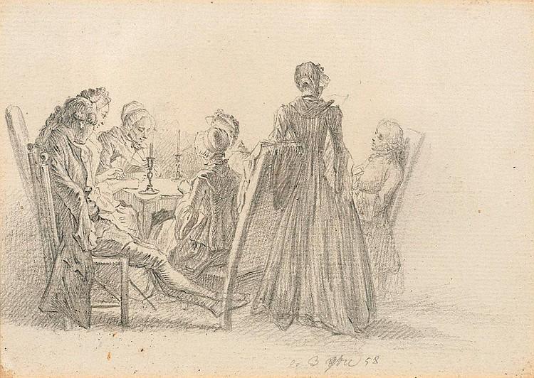 CHODOWIECKI, DANIEL NIKOLAUS (Danzig 1726 - 1801