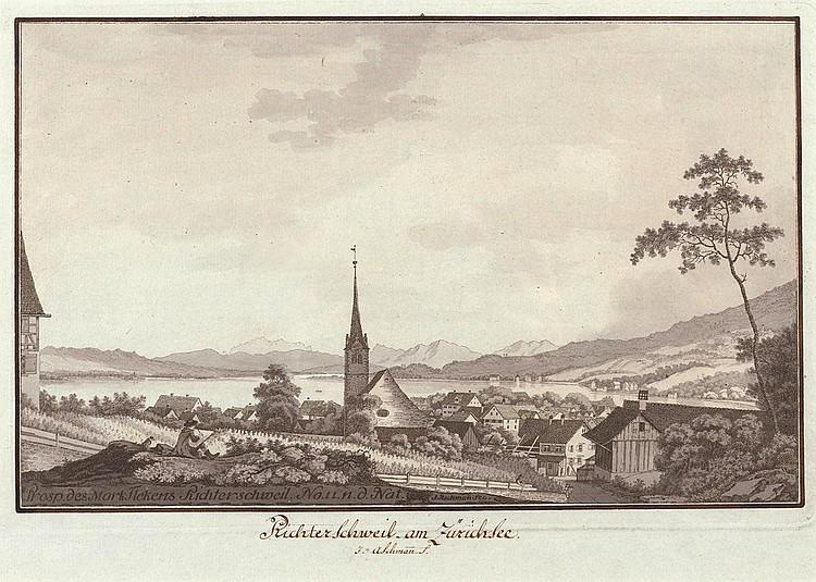RICHTERSWIL.-Johann Jakob Aschmann (1747-1809).