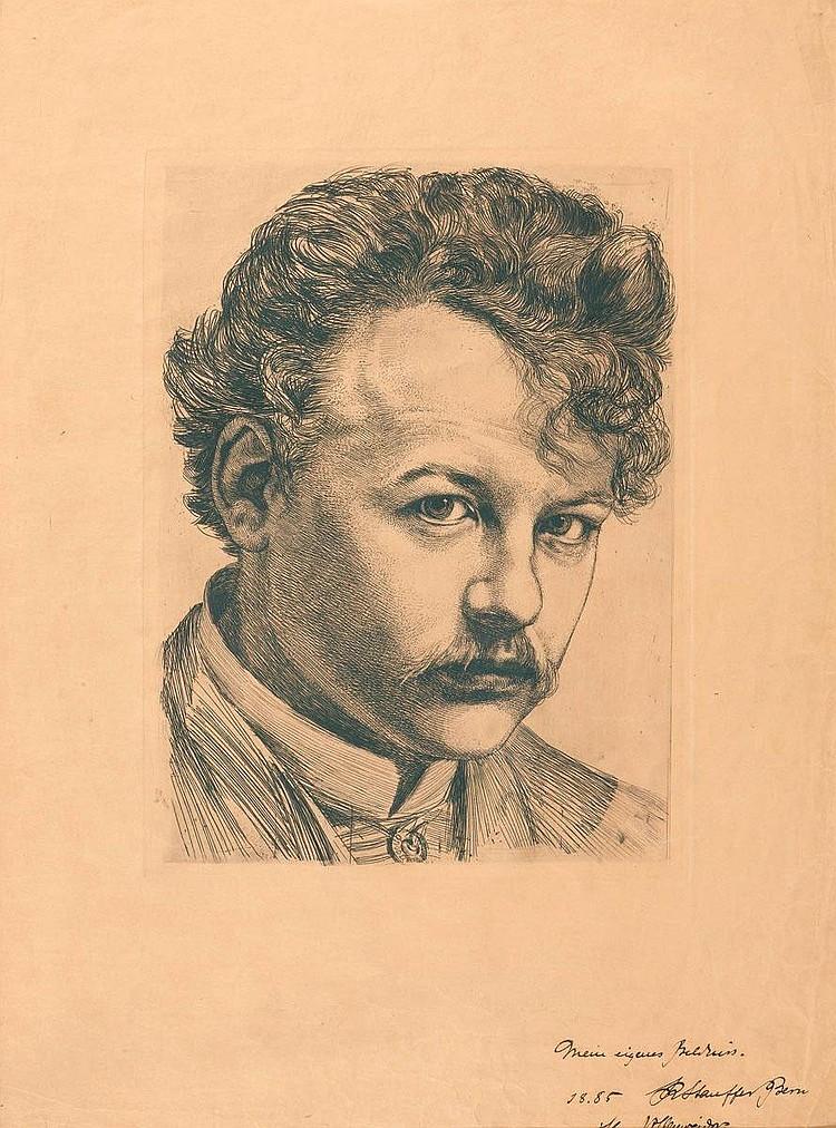 STAUFFER BERN, KARL (Trubschachen 1857 1891 Florence).