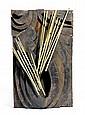 RAPHAEL BENAZZI 1933 Untitled. 1958. Iron, gilt