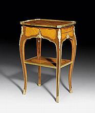 GUERIDON, so-called 'table en cabaret', Louis XV,