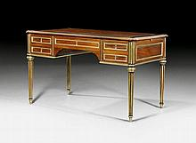 BUREAU-PLAT, in the style of Louis XVI, Paris, end