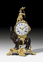 MANTLE CLOCK 'A L'ELEPHANT', in the style of Louis