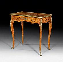 SMALL BUREAU-PLAT, in the style of Louis XV,