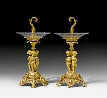 PAIR OF TABLE ORNAMENTS 'AUX ENFANTS', Napoléon