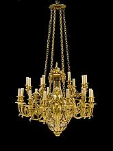 IMPORTANT CHANDELIER 'AUX SIRENES', in the Louis