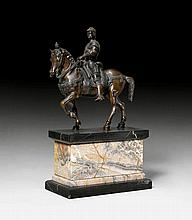 EQUESTRIAN SCULPTURE OF CONDOTTIERE COLLEONI, in