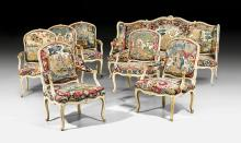 TAPESTRY SUITE OF FURNITURE,