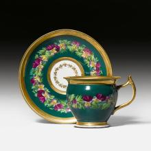 DISPLAY CUP AND SAUCER,