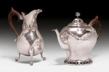 TEAPOT AND WATER JUG,