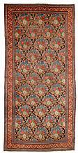 BIDJAR antique. Black central field patterned