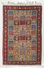 GHOM GARDEN CARPET. Central field patterned with