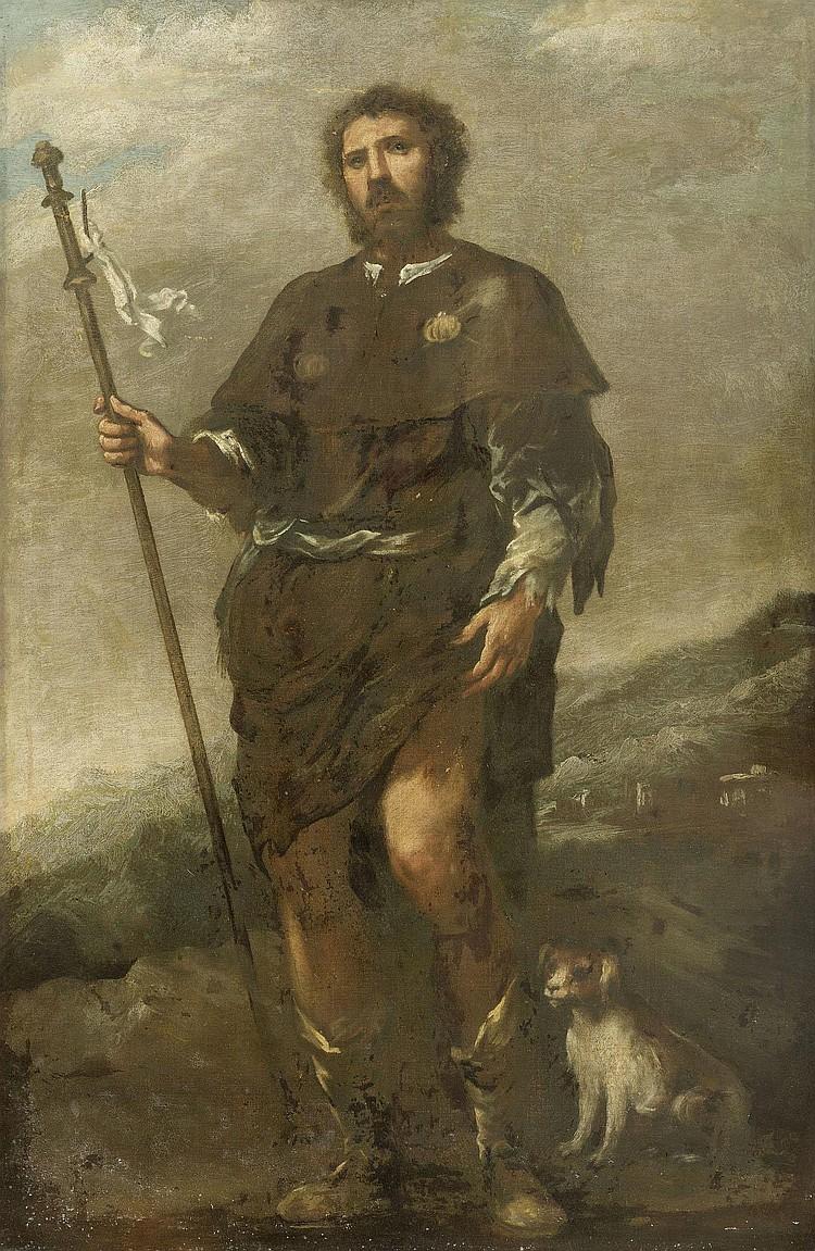 PITOCCHI, MATTEO DE' (circa 1626 Padua 1689) Saint