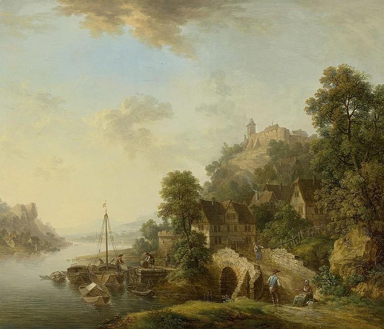 SCHÜZ, CHRISTIAN GEORG the elder (Flörsheim 1718 -