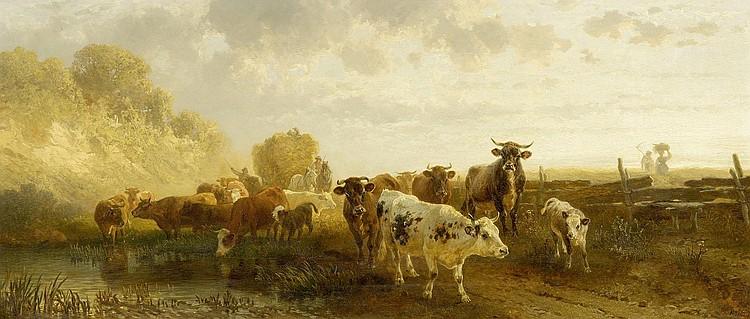 VOLTZ, FRIEDRICH (Nördlingen 1817 - 1886 Munich)