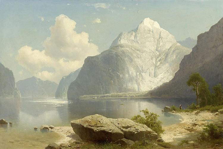CHWALA, ADOLF (Prague 1836 - 1900 Vienna) Fjord.
