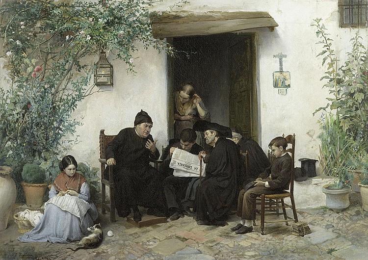 JIMÉNEZ Y ARANDA, JOSÉ (1837 Seville 1903) La