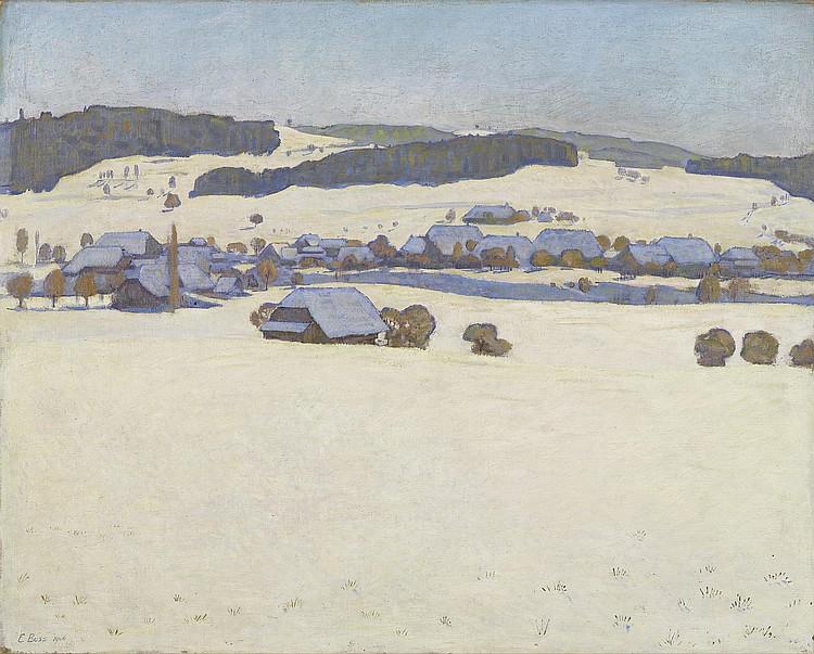 BOSS, EDUARD(Muri 1873 - 1958 Bern)Winter