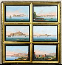 ITALY - NAPLES.- Anonymous, 19th century. Lot of