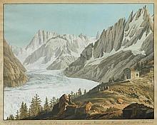 LINCK, JEAN ANTOINE (1766 Geneva 1843). Vue de la