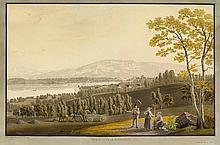GENF.- Johann Jakob Biedermann (1763-1830). Vue de