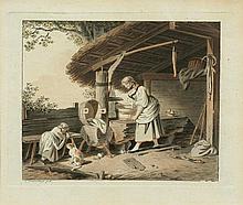 FREUDENBERGER, SIGMUND (1745 Bern 1801). La jeune
