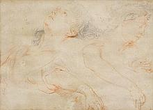 ITALIAN SCHOOL, 17TH CENTURY Study sheet with