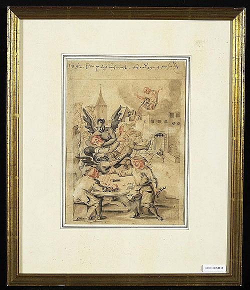 *ASPER, HANS (1499 Zürich 1571), Kopie nach.