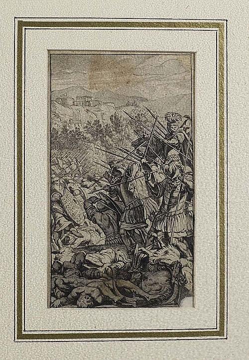 *EICHLER, GOTTFRIED d.J. (1715 Augsburg 1770), zugeschrieben.