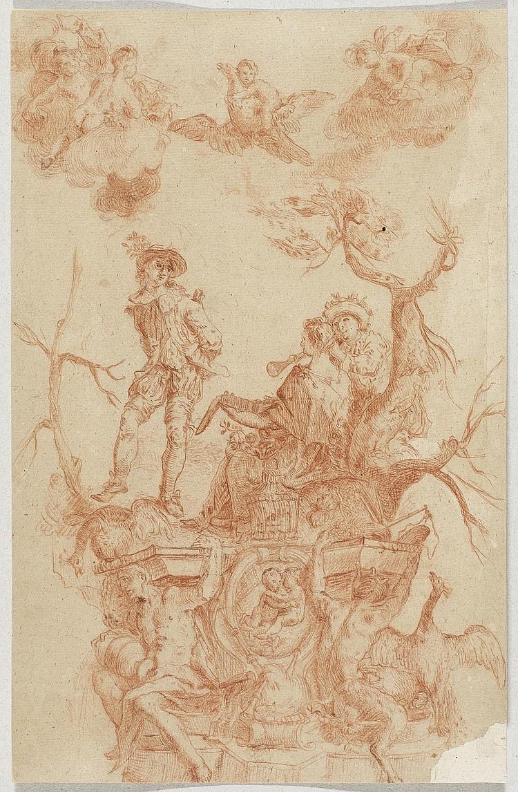 HOLZER, JOHANN EVANGELIST (Burgeis 1709 - 1740