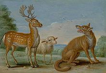 KESSEL, JAN VAN d. Ä. (1626 Antwerpen 1679) Vier