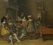 HALS, DIRCK (vor 1591 Haarlem vor 1656) Fröhliche