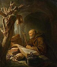 DOU, GERRIT (1613 Leiden vor 1675) Einsiedler im
