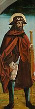 SÜDTIROL, UM 1515 Altartafel: Heiliger Rochus. Öl