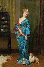 VERHAS, FRANS (Termonde 1827 - 1894 Schaerbeek)