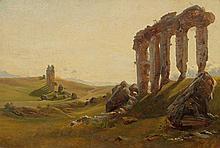FREY, JOHANN JAKOB (Basel 1813 - 1865 Frascati)