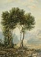 CALAME, ALEXANDRE (ZUGESCHRIEBEN) (Vevey 1810 -