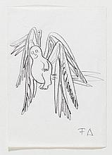 Dürrenmatt, Friedrich, Schriftsteller (1921-1990).