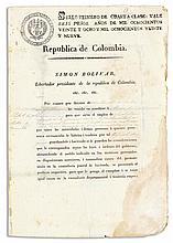 Bolivar, Simon, Befreier Südamerikas von der span.