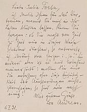 Andreas-Salomé, Ruth, Schriftstellerin und