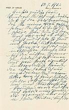Freud, Sigmund, Begründer der Psychoanalyse
