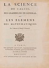 MATHEMATIK - [Reyneau, C.R.]. La science du calcul