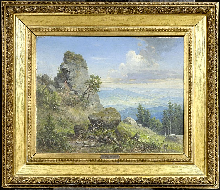 LEONHARDI, EDUARD (ATTRIBUTED TO) (Freiberg 1826 -