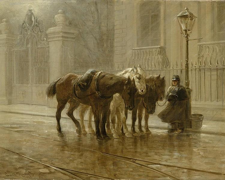 RUMPF, EMIL (Frankfurt 1859 - 1948 Kronberg) A