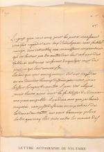 Voltaire, F. M. A. de, Philosoph (1694-1778).