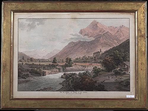 ABERLI, JOHANN LUDWIG (Winterthur 1723 - 1786 Bern).