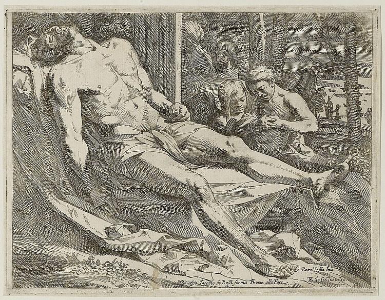TESTA, GIOVANNI CESARE (circa 1630 - 1655 Rome).