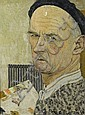 BERGER, HANS.(1882 - 1977).'Portrait', Hans (1882) Berger, Click for value